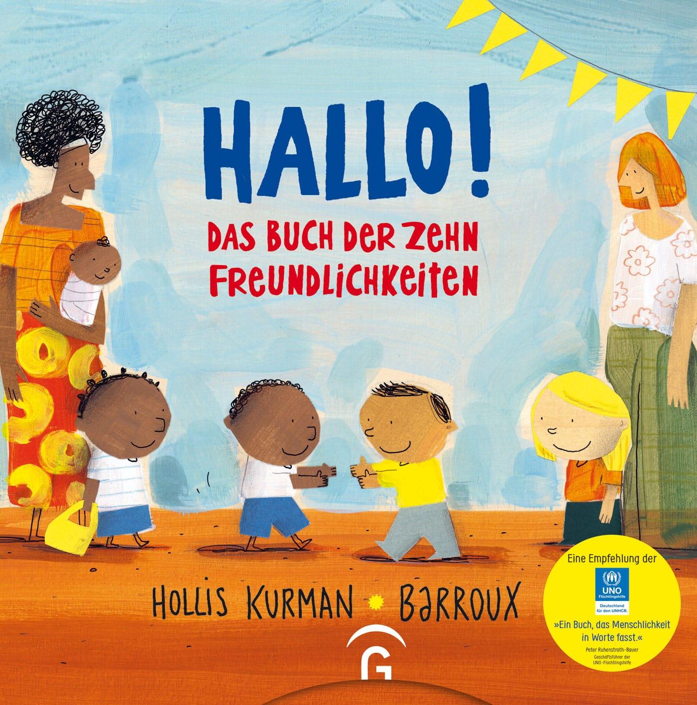 Kinderbuch-Tipp: Hallo! Das Buch der zehn Freundlichkeiten // HIMBEER