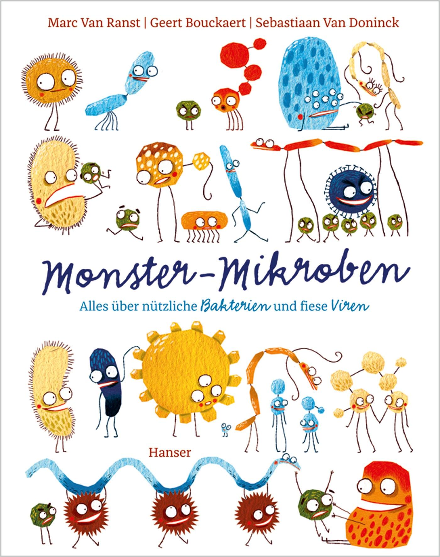 Kindersachbuch-Tipp: Monster-Mikroben // HIMBEER