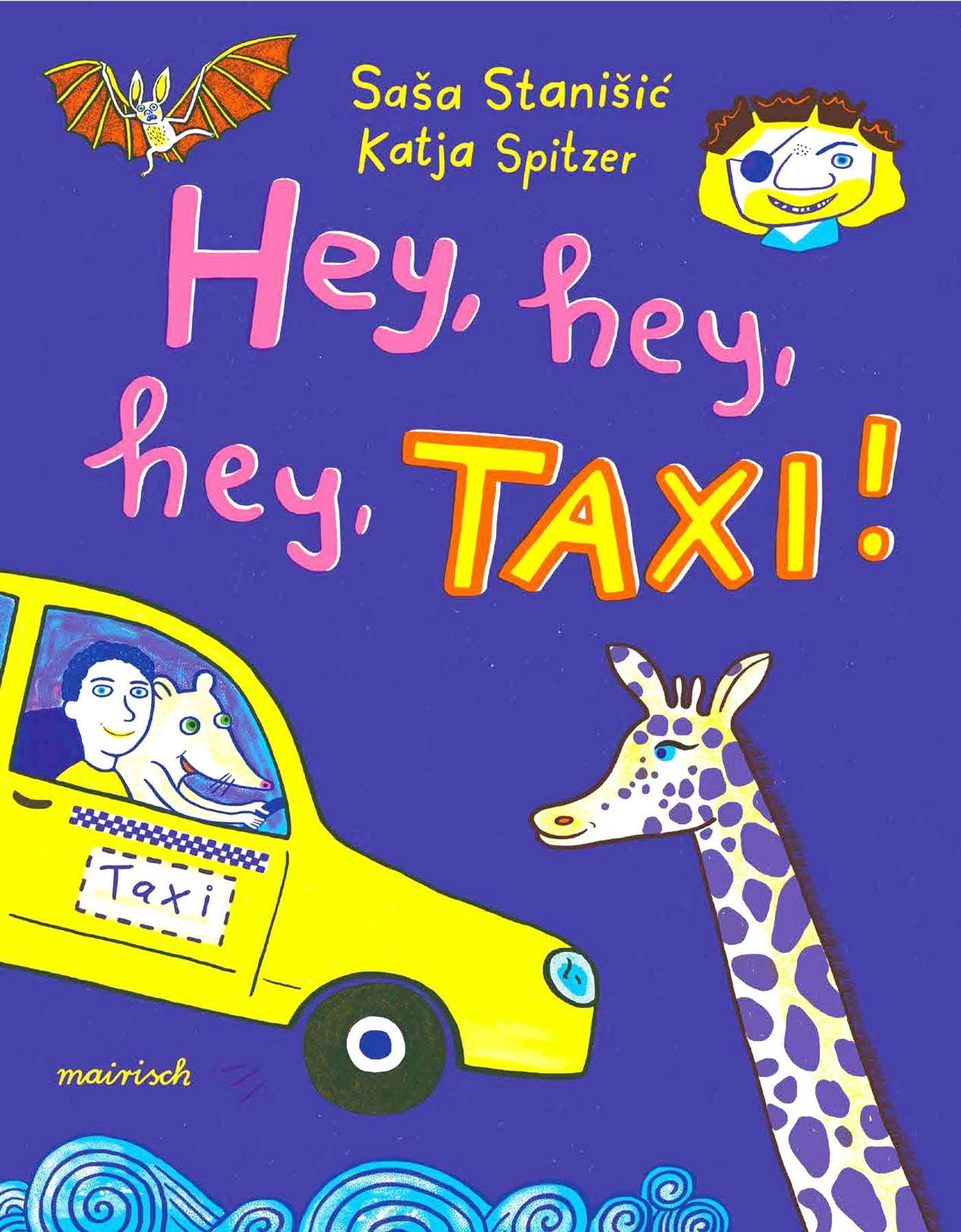 KInderbuch-Tipp: Hey, hey, hey, Taxi! // HIMBEER