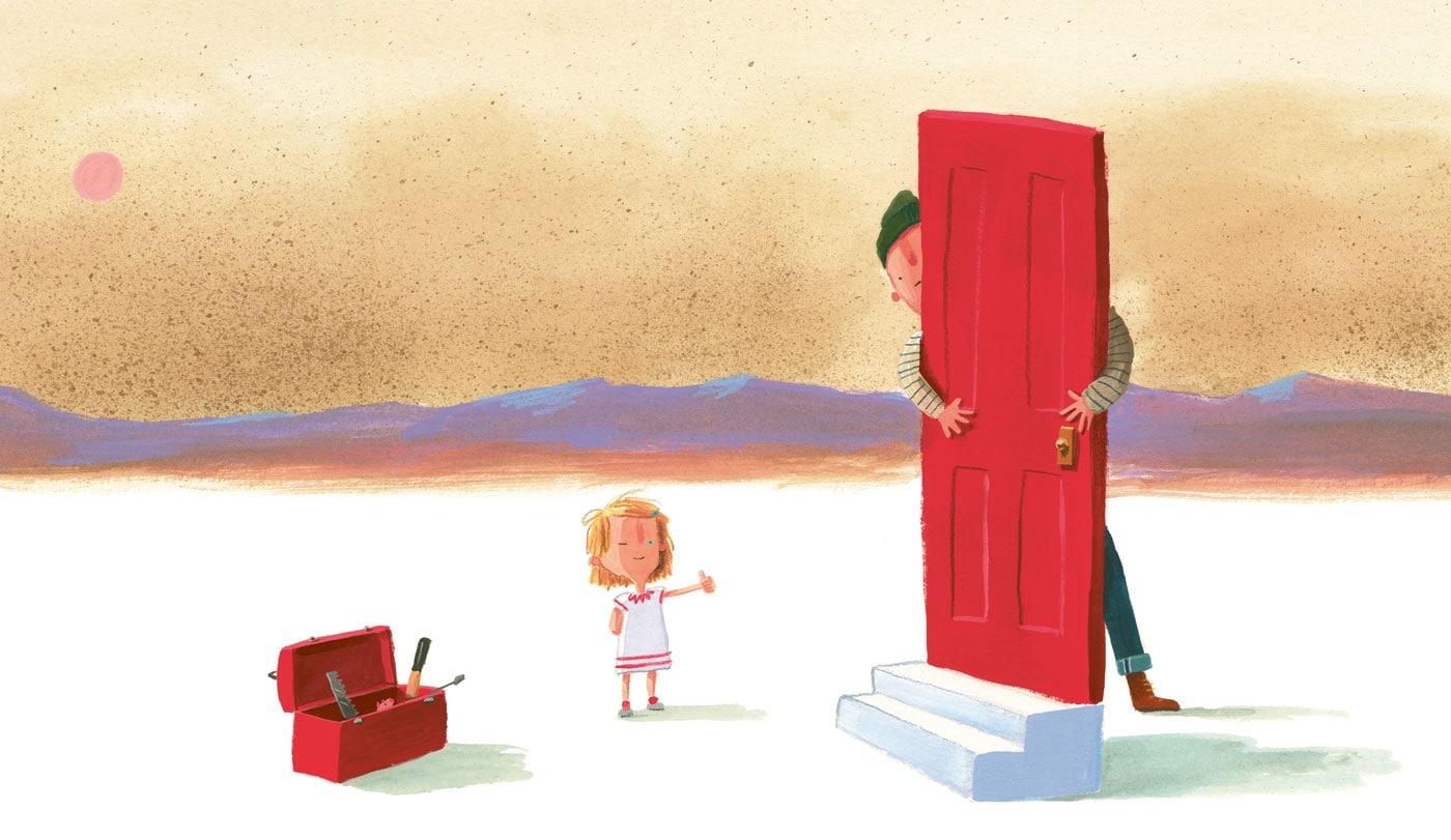 Kinderperspektiven – Kinderbuch-Tipp: Was wir bauen von Oliver Jeffers// HIMBEER