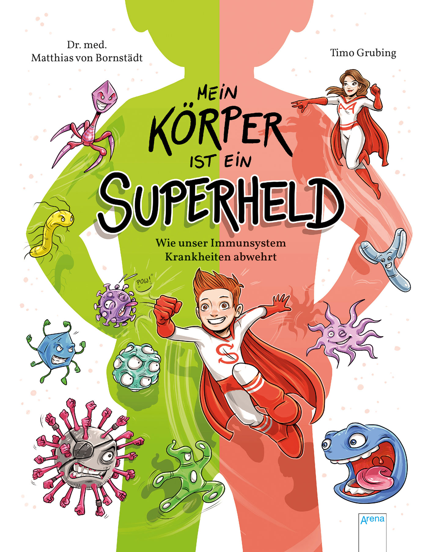 Kinderbuch-Tipp: Kindersachbuch über das Immunsystem // HIMBEER