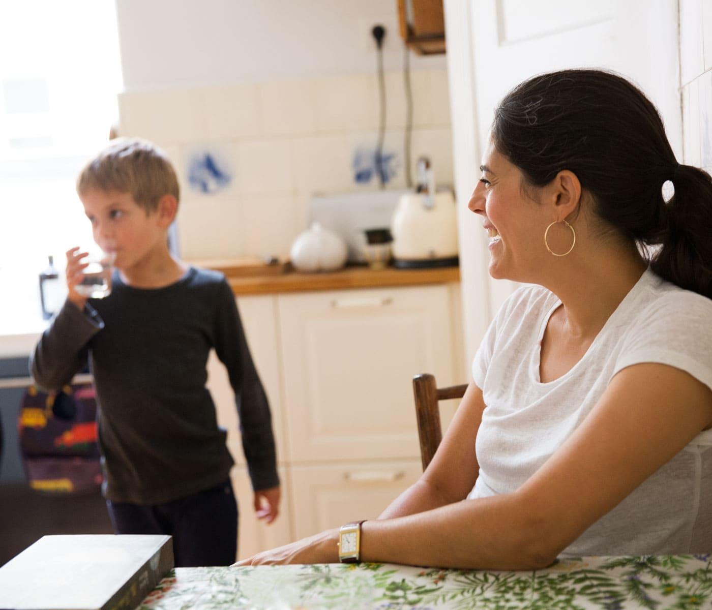 Nachhaltiges Familienleben – Ressourcen schonen: Leitungswasser trinken // HIMBEER