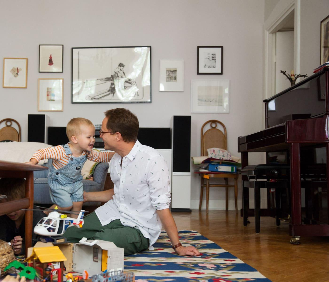 Nachhaltiges Familienleben: Vintagemöbel // HIMBEER