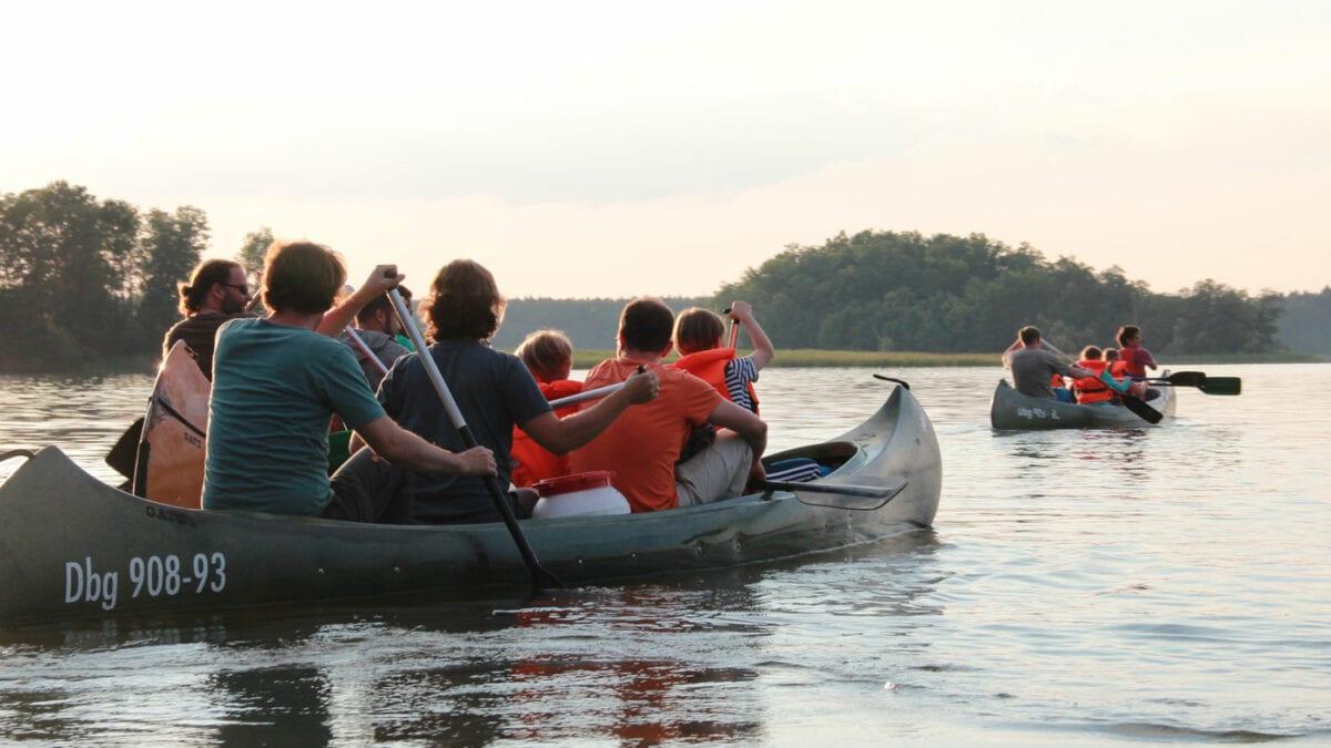 Aktivurlaub für Familien– Abenteuerurlaub mit Papa: Paddeln // HIMBEER