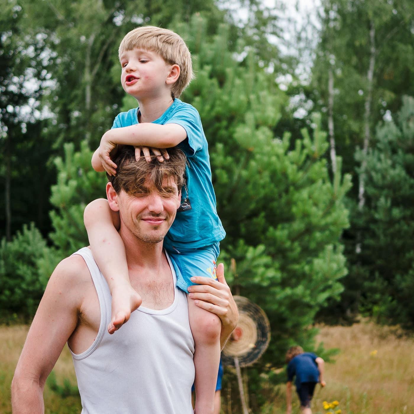 Vater-Kind-Camps in der Natur mit Stadtfrei // HIMBEER