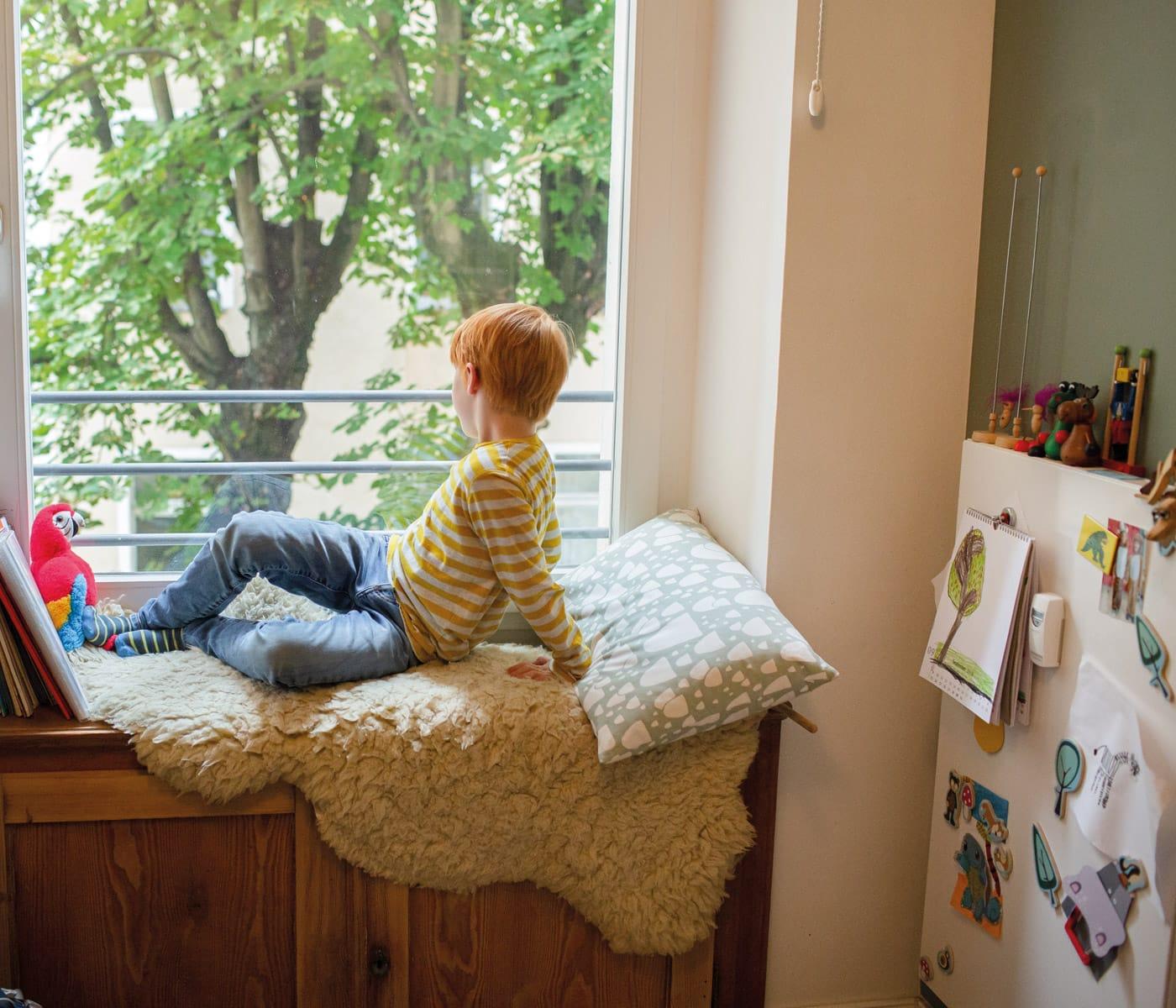 Kuschelecken im Kinderzimmer – immer eine gute Idee // HIMBEER