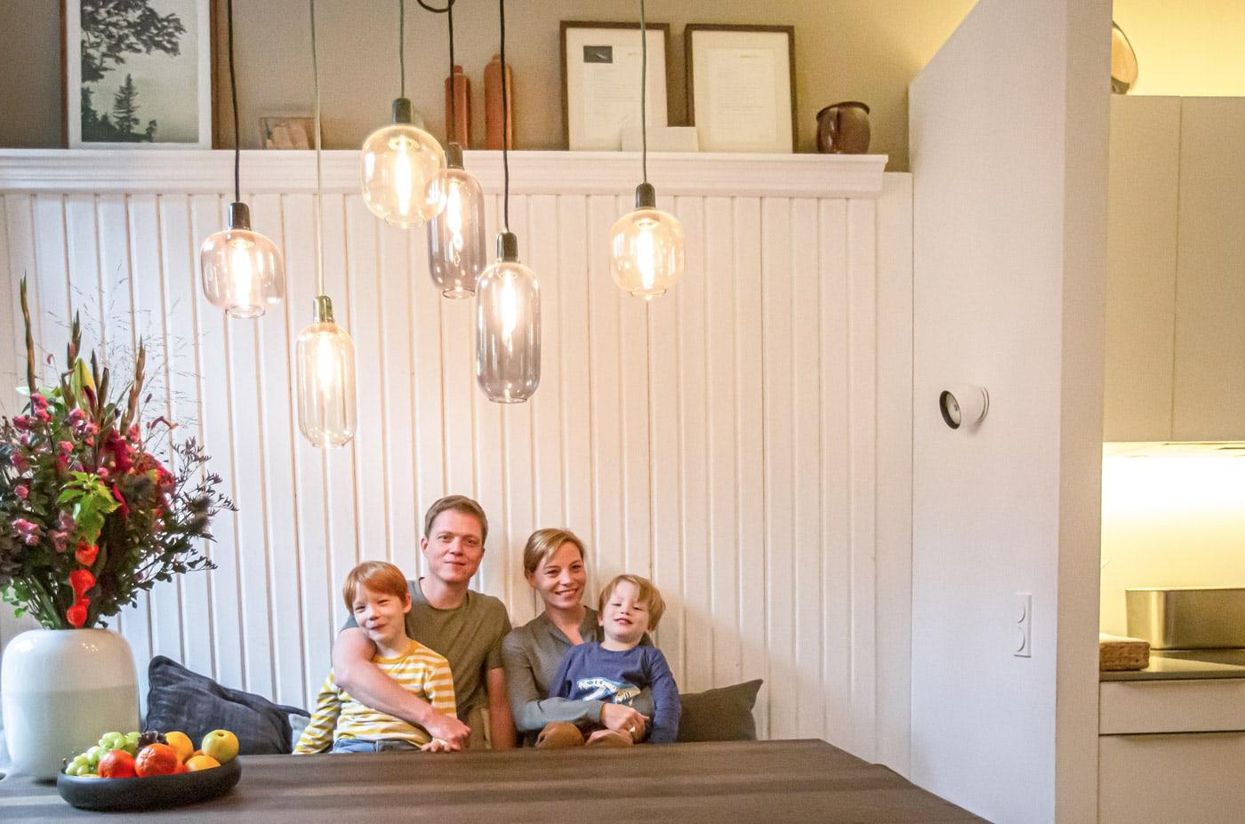 Umbau der Familienwohnung: Mehr Platz schaffen // HIMBEER