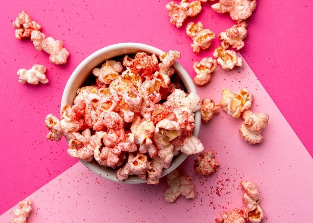 Wildcorn: Süßes Popcorn ohne Zuckerzusatz // HIMBEER