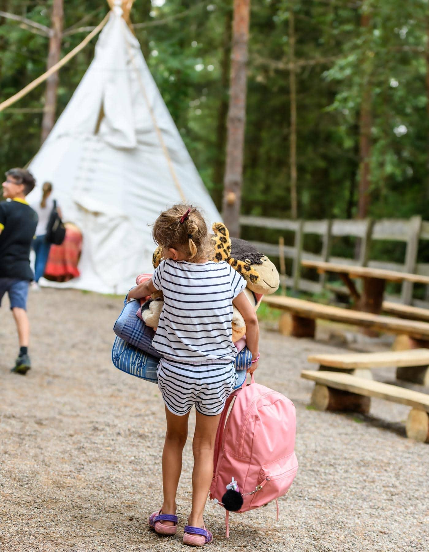 Camping mit Kindern im Ferienpark Havelberg am Woblitzsee // HIMBEER