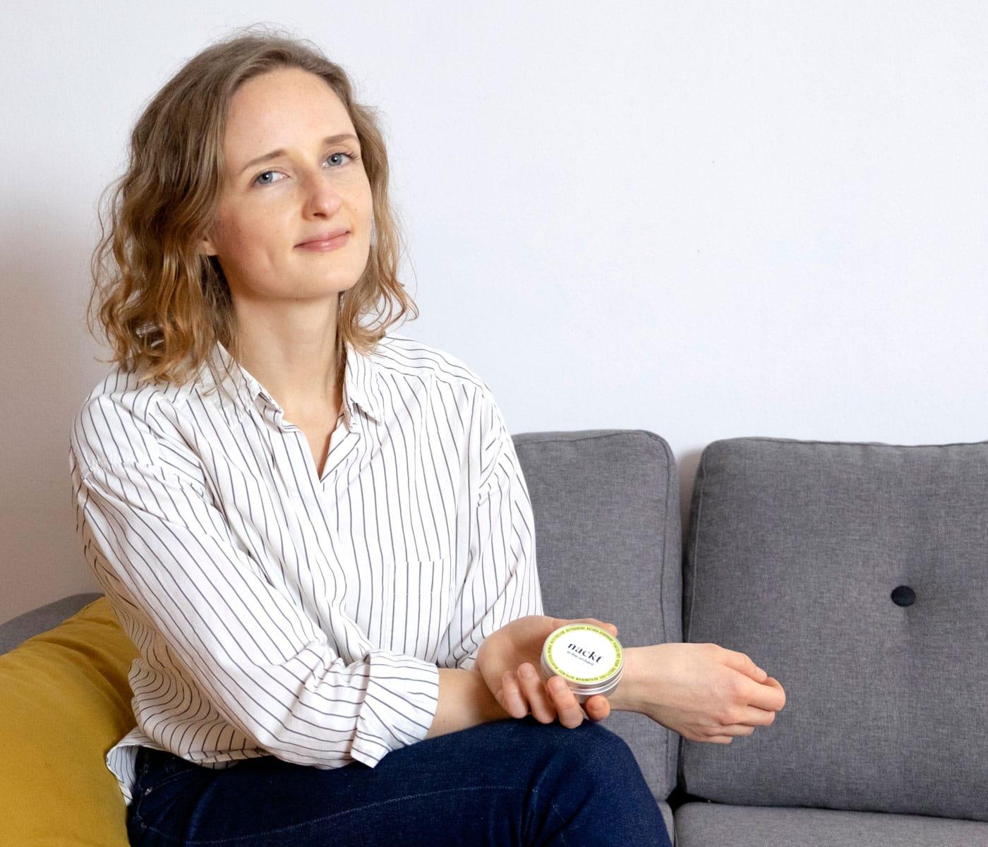 Gründerin von nackt: Anna Bernhard // HIMBEER