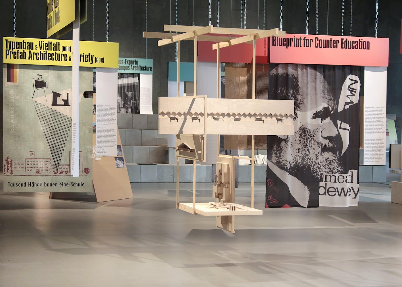 Ausstellung zur Schule im Haus der Kulturen der Welt // HIMBEER
