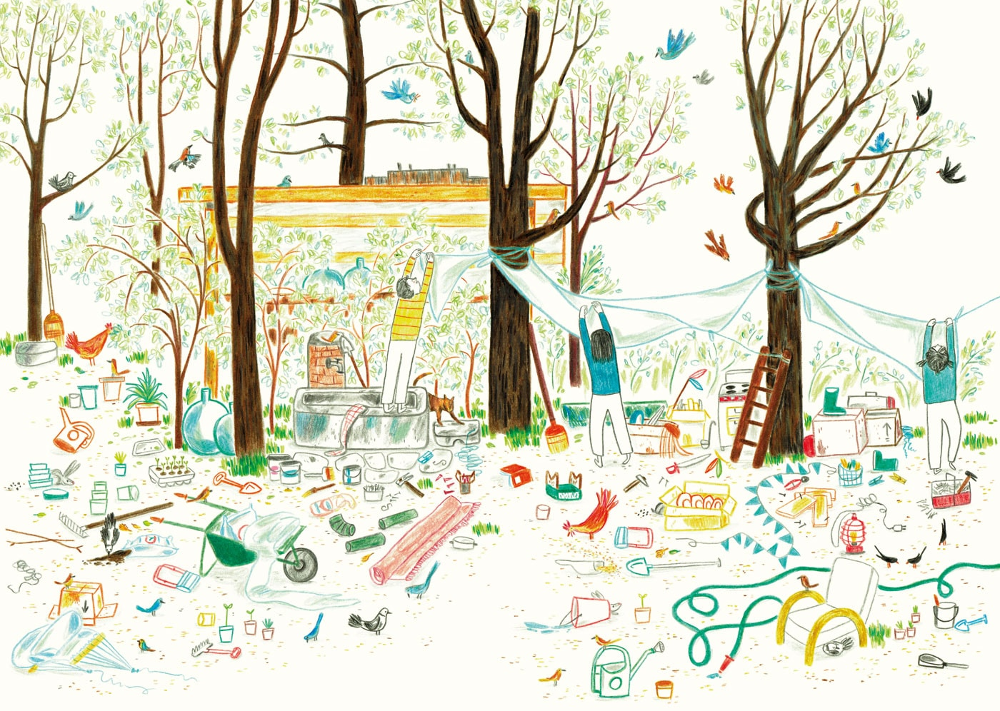 Draußenabenteuer für Kinder: Kinderbücher rund um Garten und Natur // HIMBEER