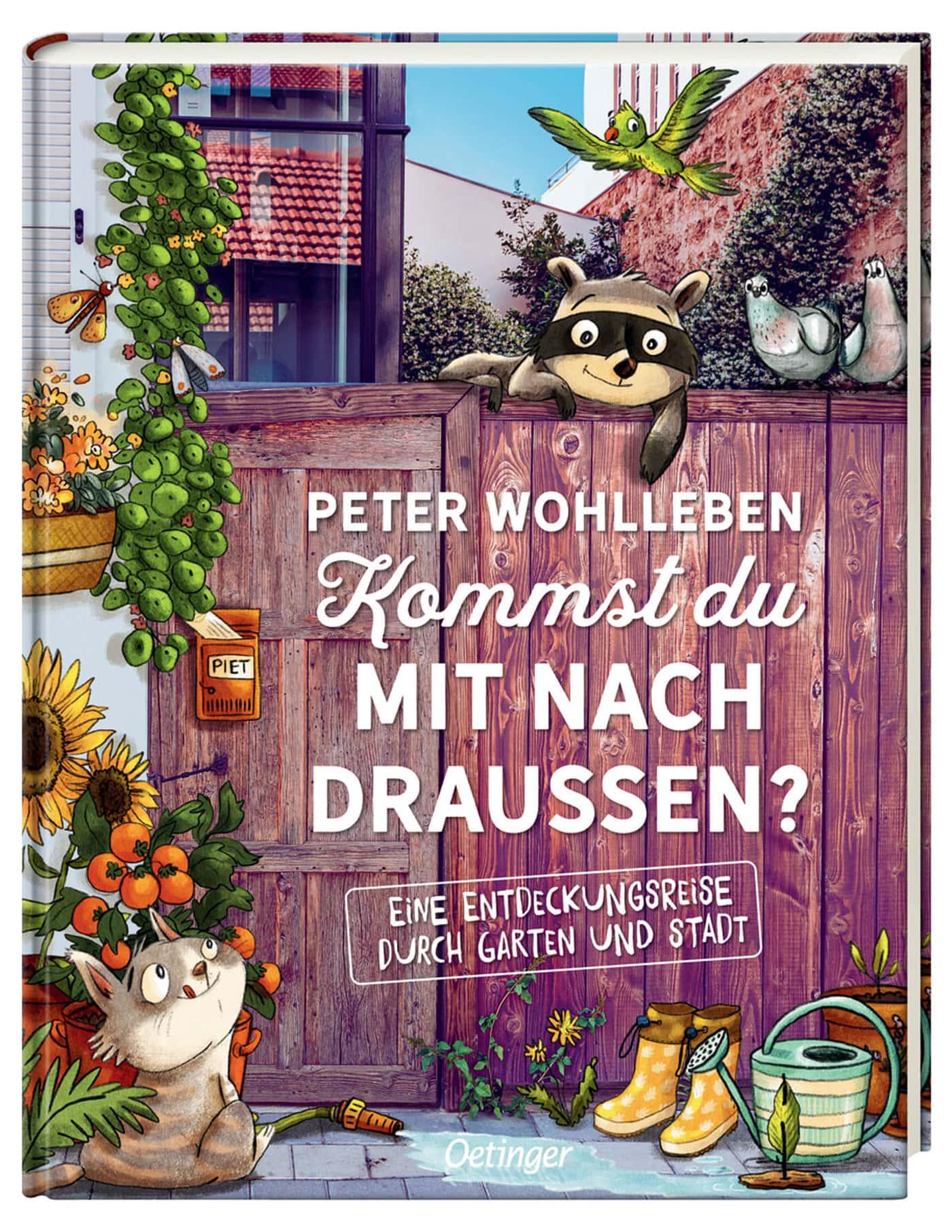 Draußenabenteuer – Kinderbuch-Tipp: Entdeckungsreise Garten und Stadtnatur für Kinder // HIMBEER