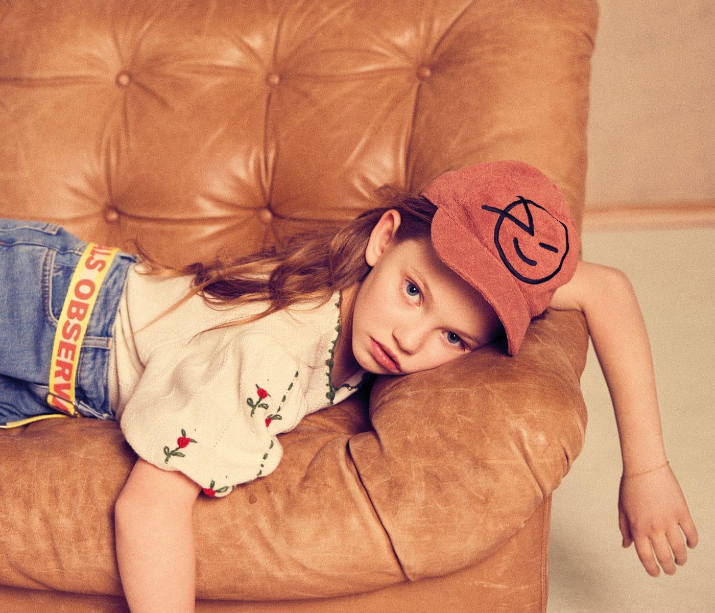 Mode für Kinder im Sommer 2021: Cap // HIMBEER