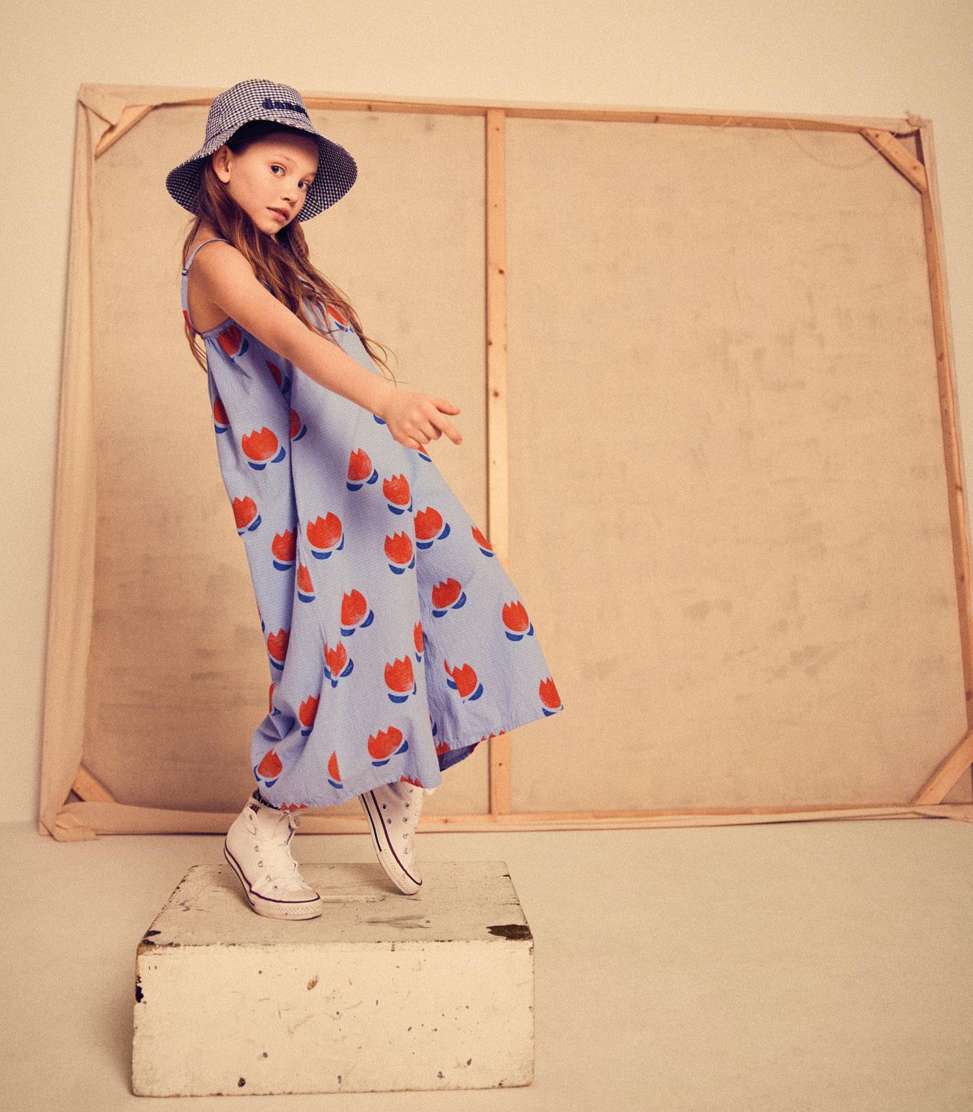 Mode für Kinder im Sommer 2021: Kleid // HIMBEER