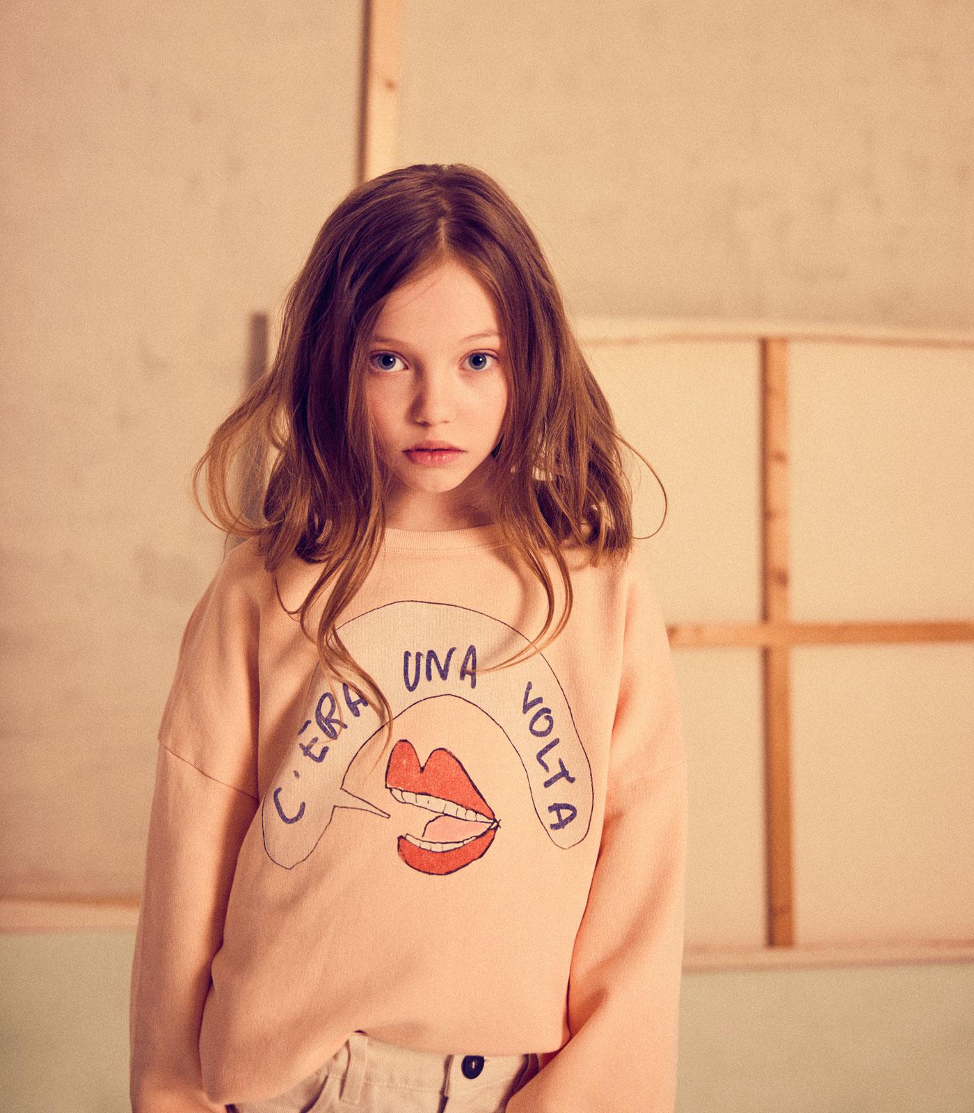 Mode für Kinder im Sommer 2021: Sweatshirt // HIMBEER
