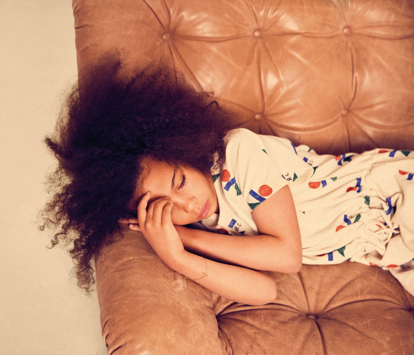 Mode für Kinder im Sommer 2021: Bluse // HIMBEER