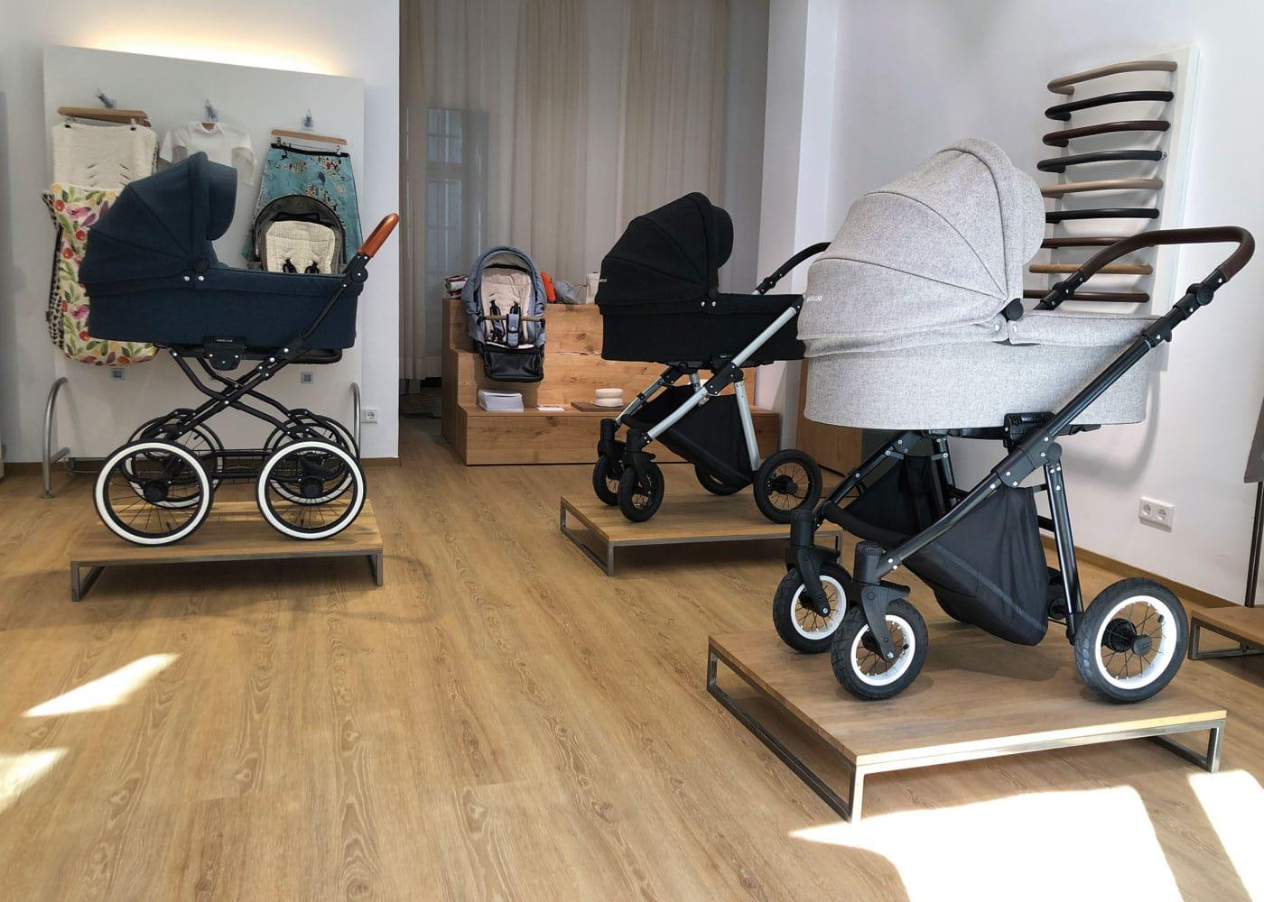 Gute Kinderwagen kaufen in Berlin: Angelcab Kinderwagen-Laden in Berlin-Prenzlauer Berg // HIMBEER