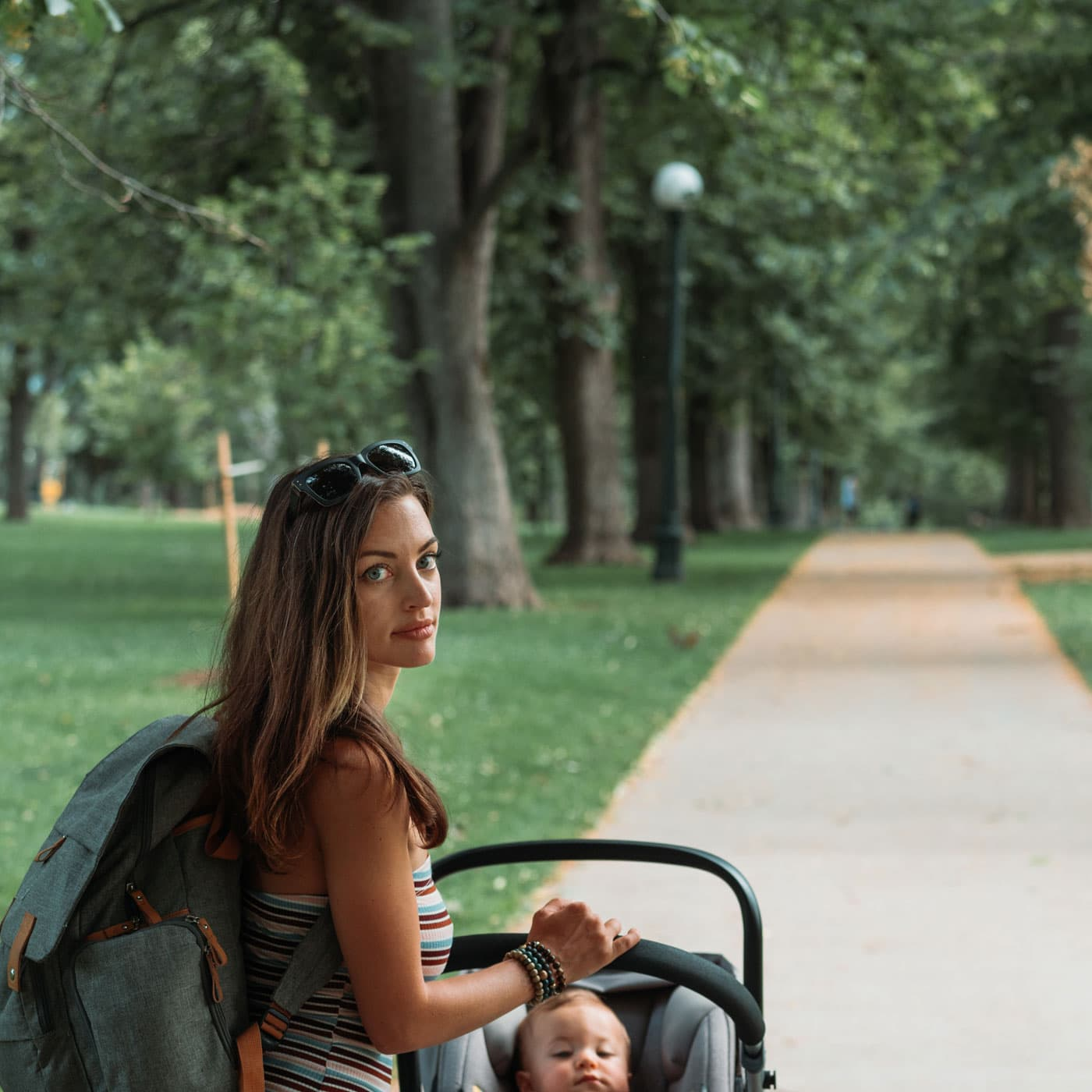 Kinderwagen-Wanderungen – raus in die Natur mit Baby // HIMBEER