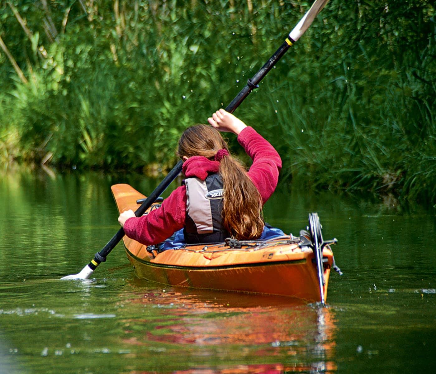 Urlaub mit Kindern an der Mecklenburgischen Seenplatte: Wassersport // HIMBEER