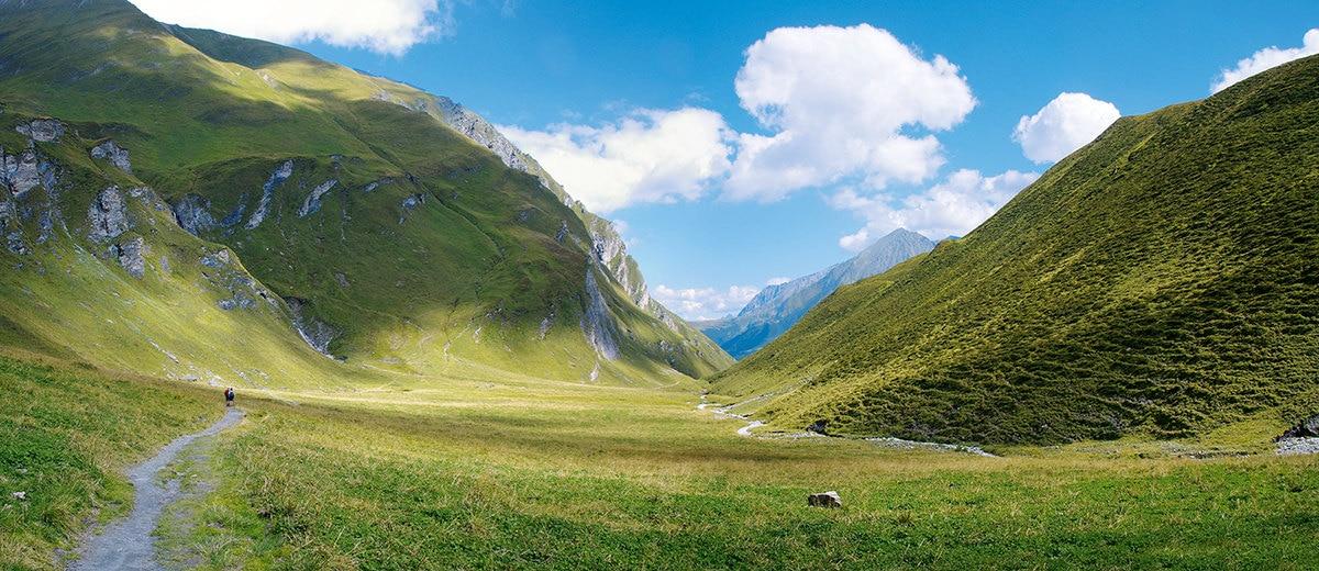 Tuxer Joch in den Tiroler Bergen // HIMBEER