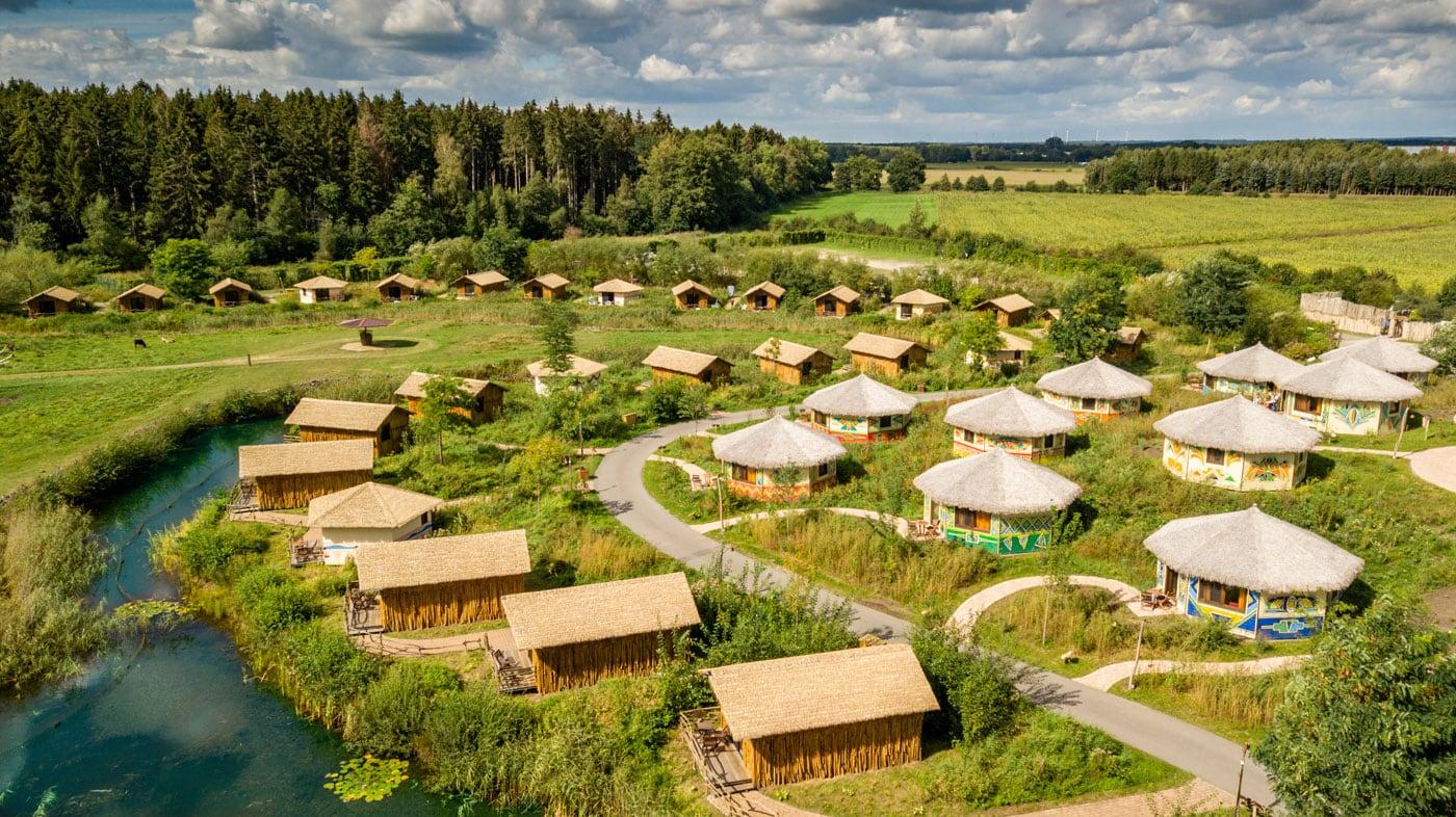 Reisen mit Kindern: Übernachten im Serengeti-Park Hodenhagen // HIMBEER