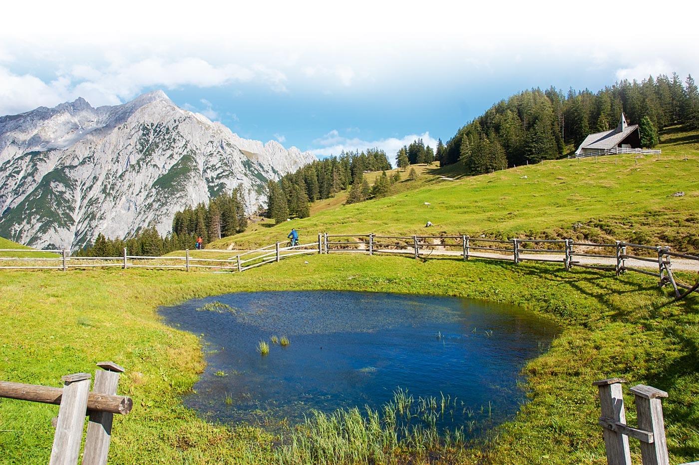 Naturzeit-Reisetipp: Wandern mit Kindern in der Umgebung von Innsbruck: Walderalm // HIMBEER