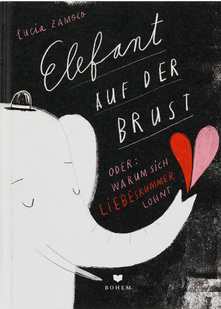 Stiftung Buchkunst: Die Schönsten Deutschen Bücher 2021: Kinder- und Jugendbücher: Elefant auf der Brust // HIMBEER