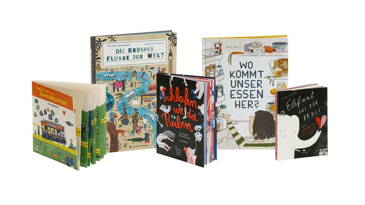 Stiftung Buchkunst: Die Schönsten Deutschen Bücher 2021: Kinder- und Jugendbücher // HIMBEER