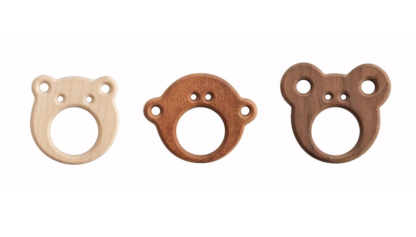 Baby-Lieblingssachen: Bio-Beißring für Babys aus unbehandeltem Holz // HIMBEER