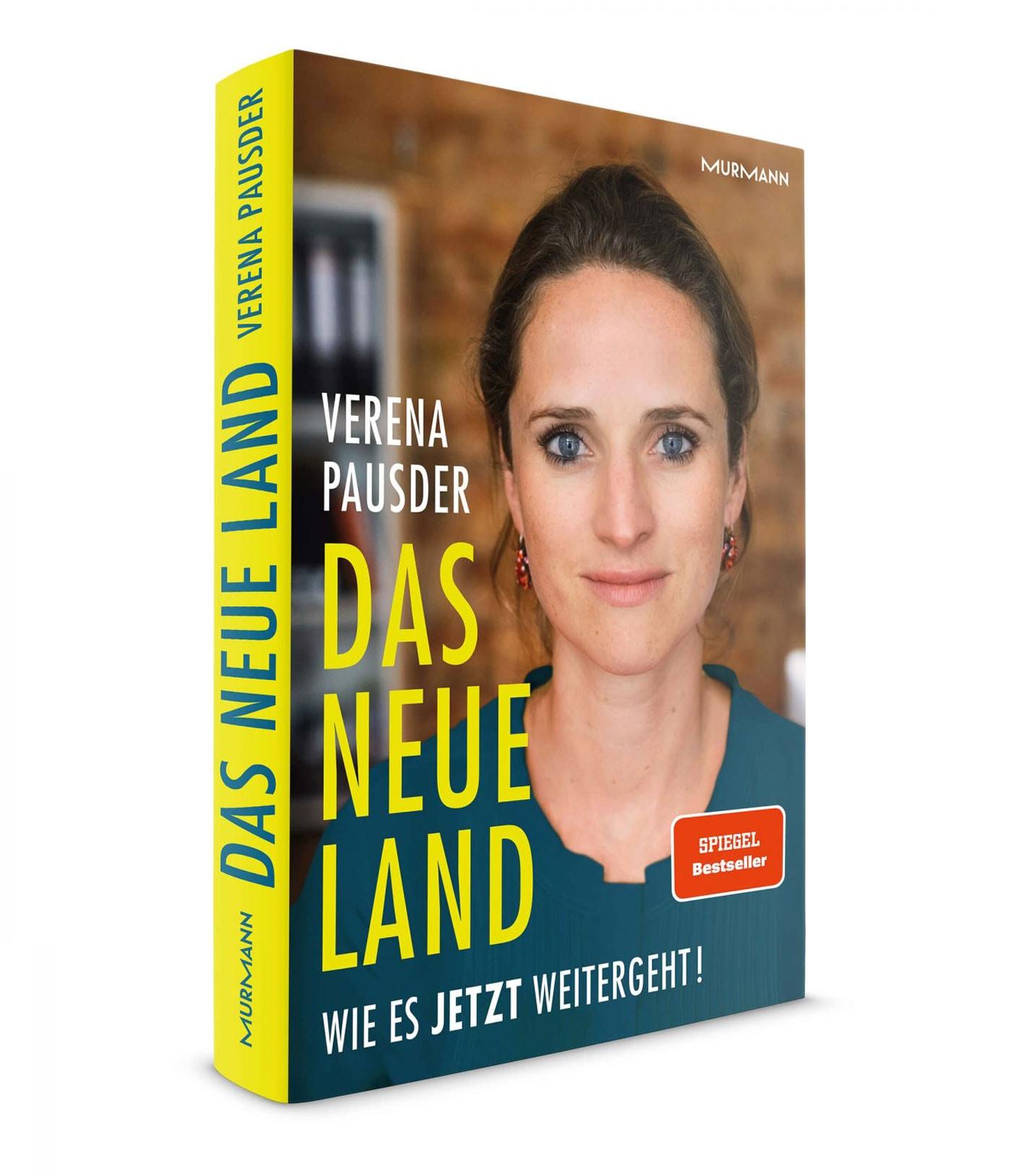 """Buch von Verena Pausder """"Das Neue Land. Wie es jetzt weitergeht!"""" // HIMBEER"""