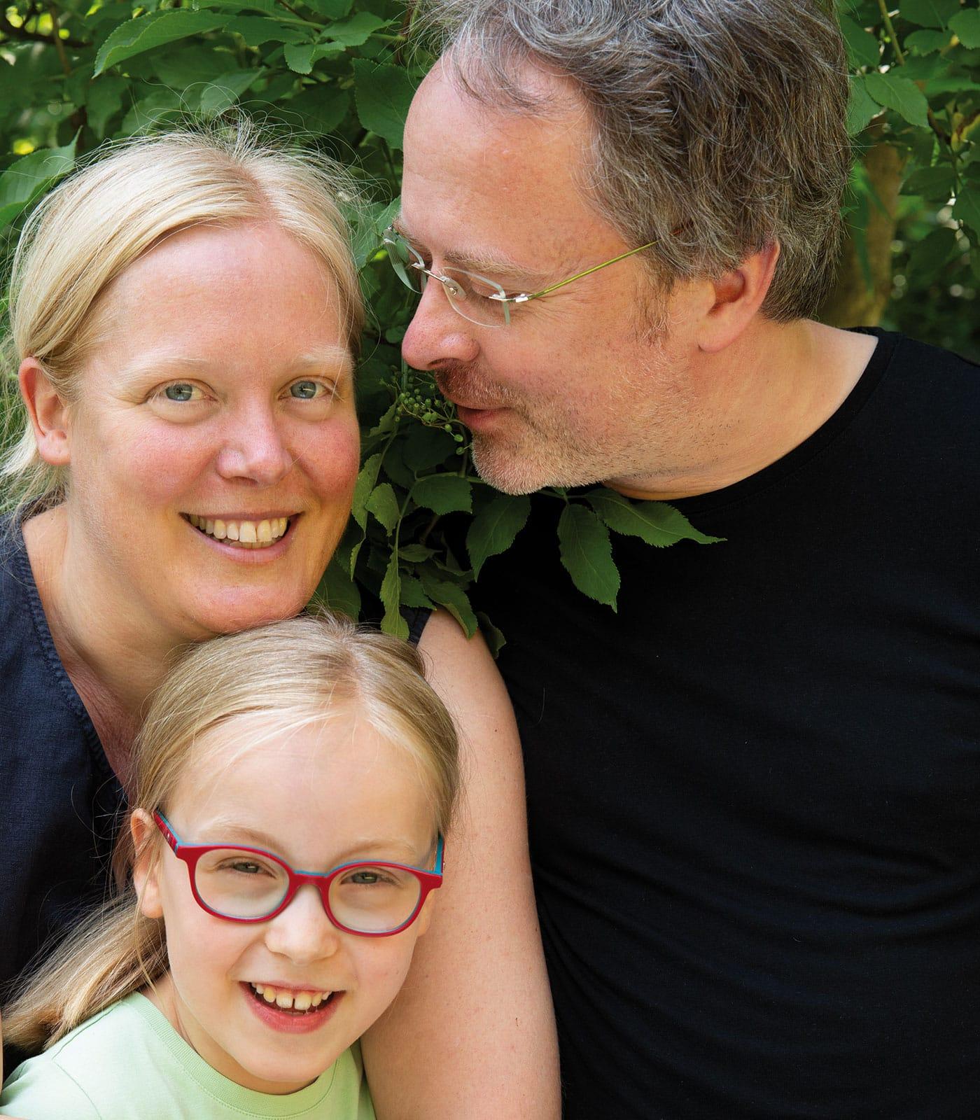 Kinder engagieren sich für Klimaschutz: Edna und ihre Familie // HIMBEER