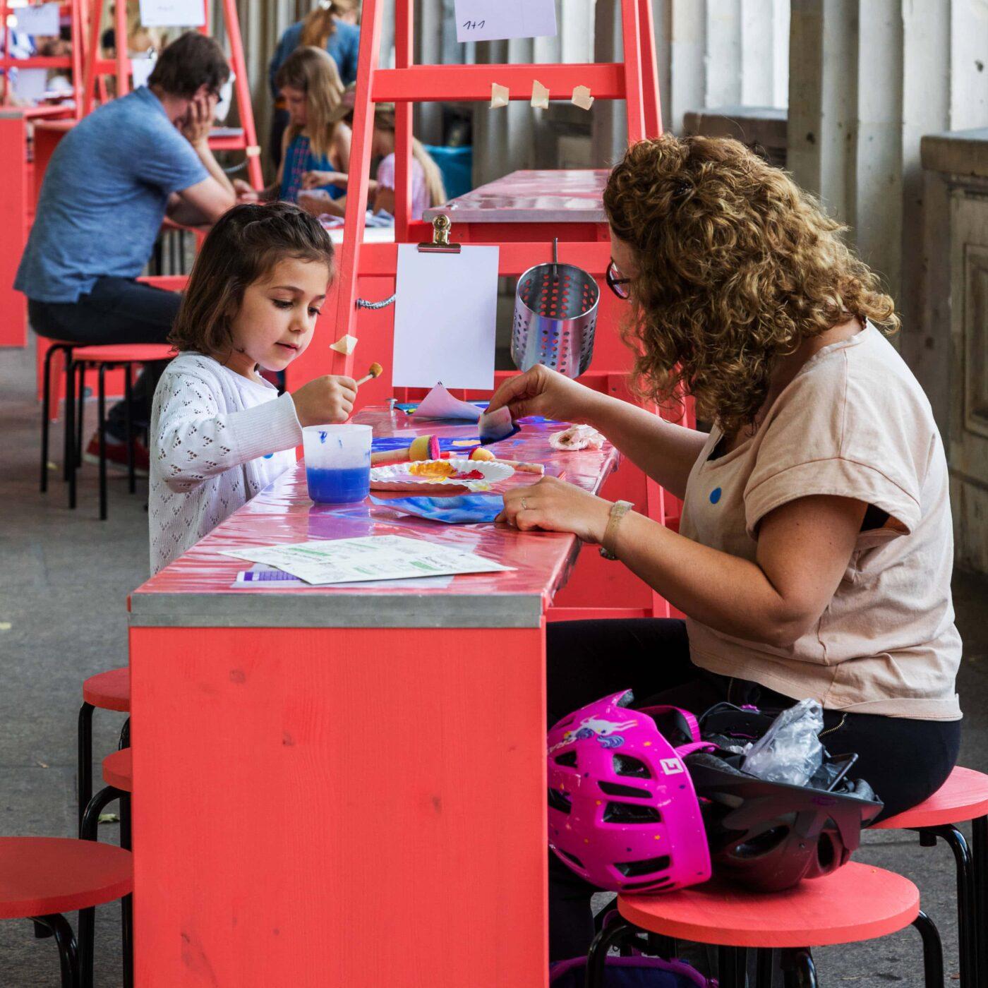 Ferienprogramm für Kinder und Familien der Staatlichen Museen zu Berlin // HIMBEER