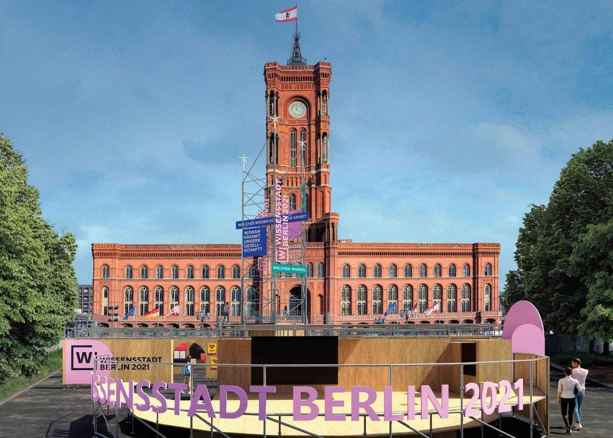 Wissensstadt Berlin: Familientag am Roten Rathaus // HIMBEER