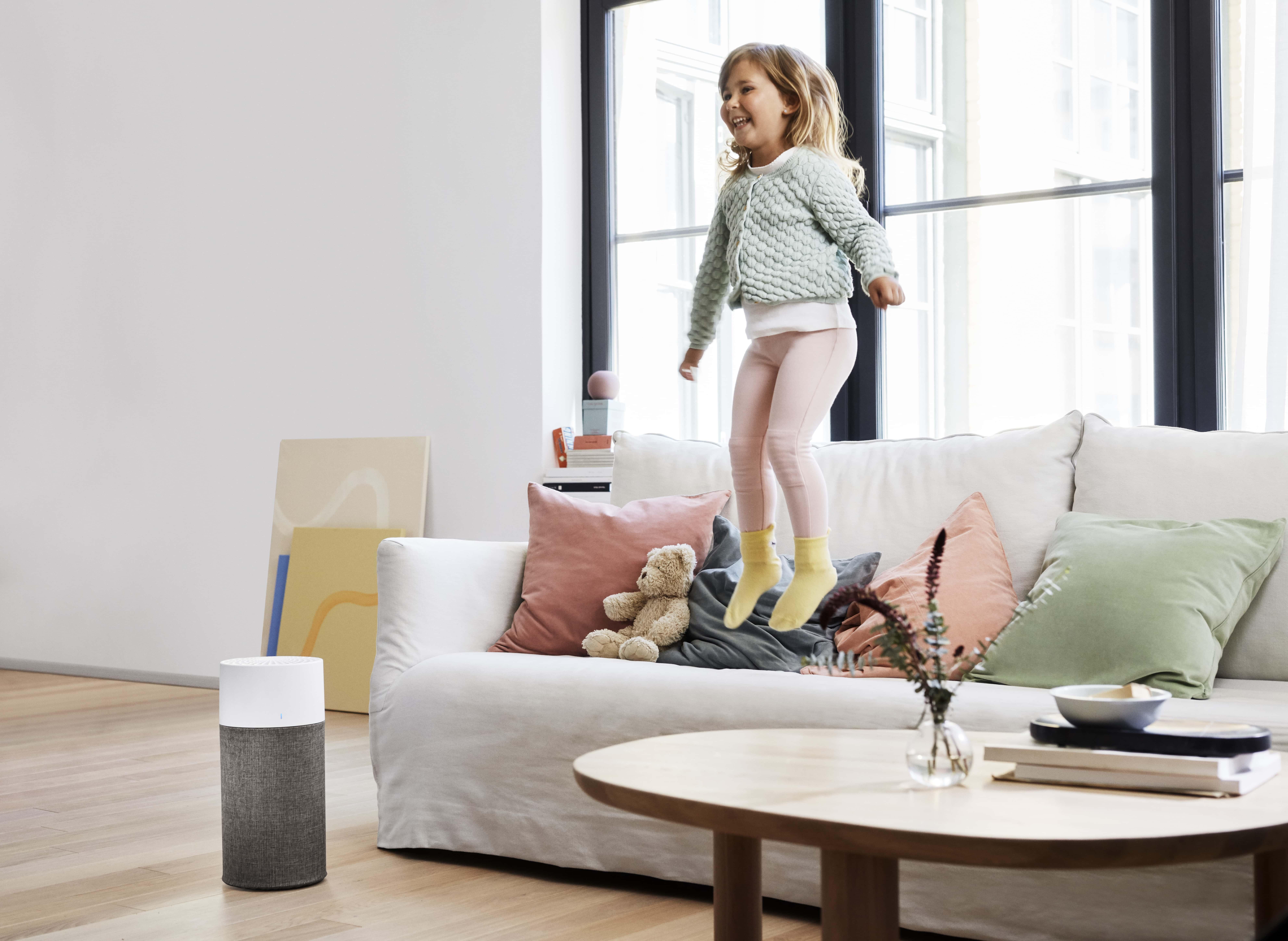 Blueair-Luftreiniger sorgen für gesunde Lufz in Innenräumen // HIMBEER