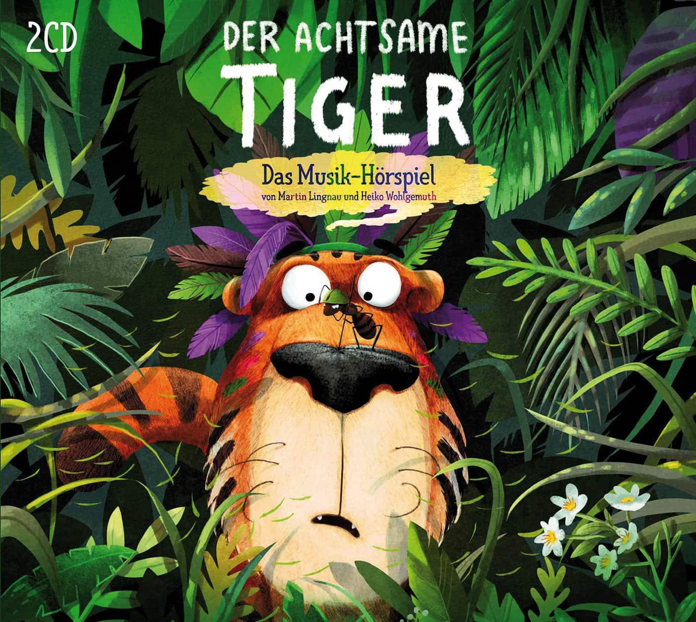 Hörspiel-Tipp für Kinder: Der achtsame Tiger // HIMBEER