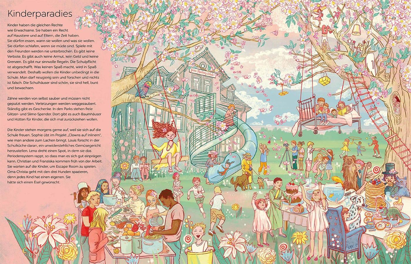 Kindersachbilderbuch: Die besten Weltuntergänge // HIMBEER
