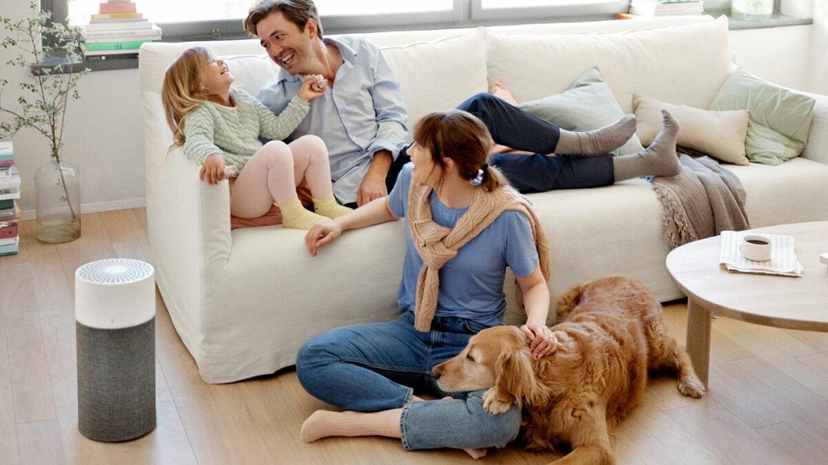 Blueair-Luftreiniger Familienleben // HIMBEER
