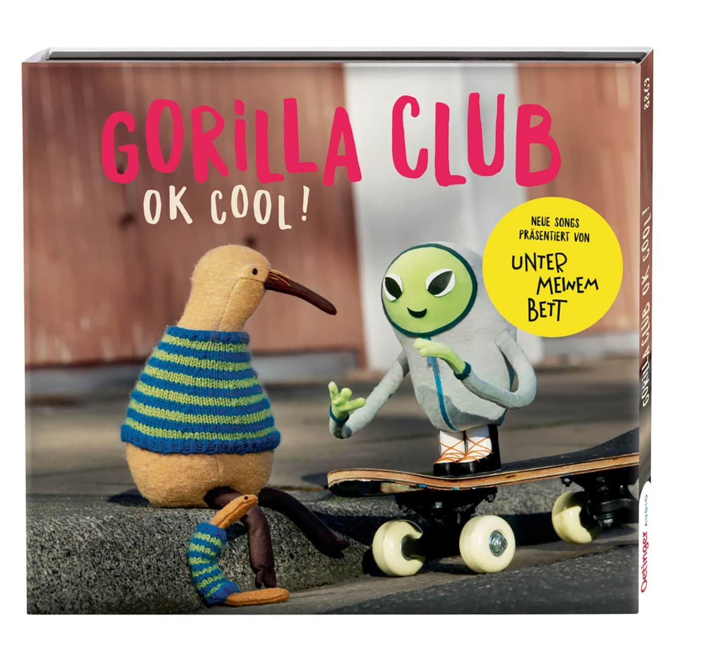 Gute Kindermusik: Gorilla Club – OK, cool // HIMBEER