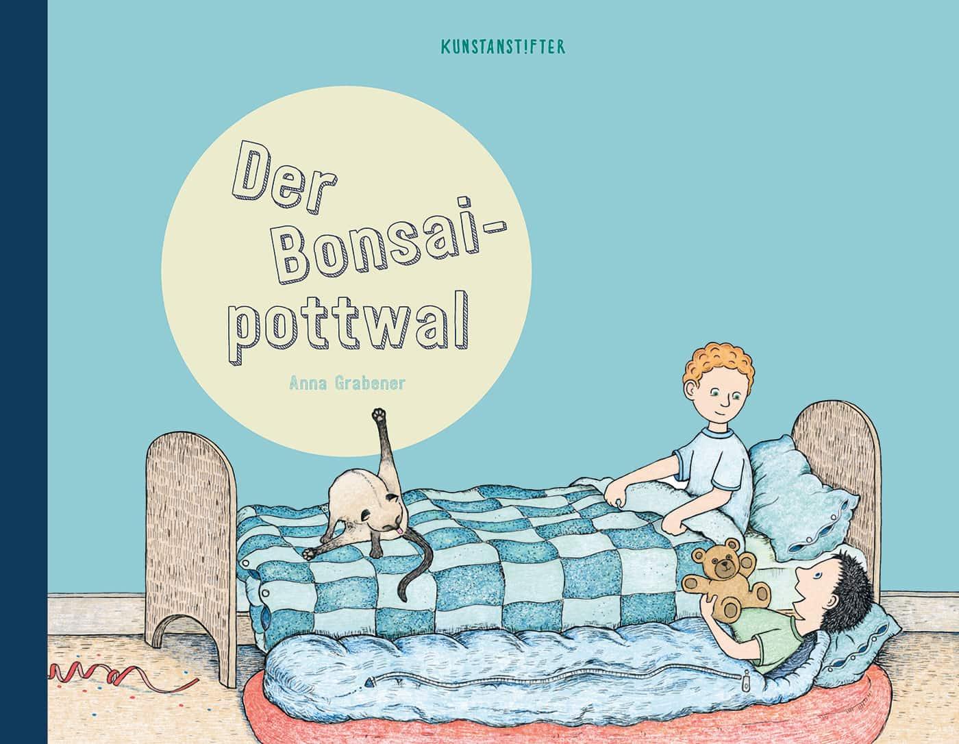 Kinderbuch-Tipps: Der Bonsaipottwal // HIMBEER