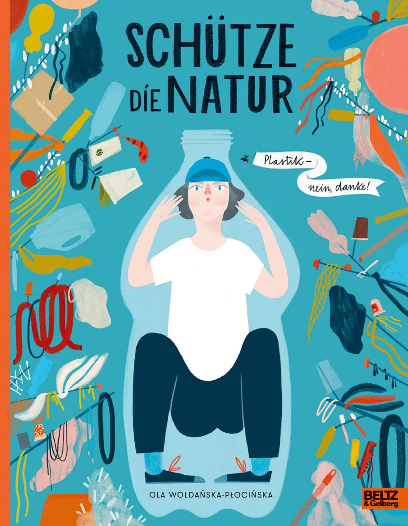 Natur- und Klimaschutz-Kindersachbuch-Tipps: Schütze die Natur // HIMBEER