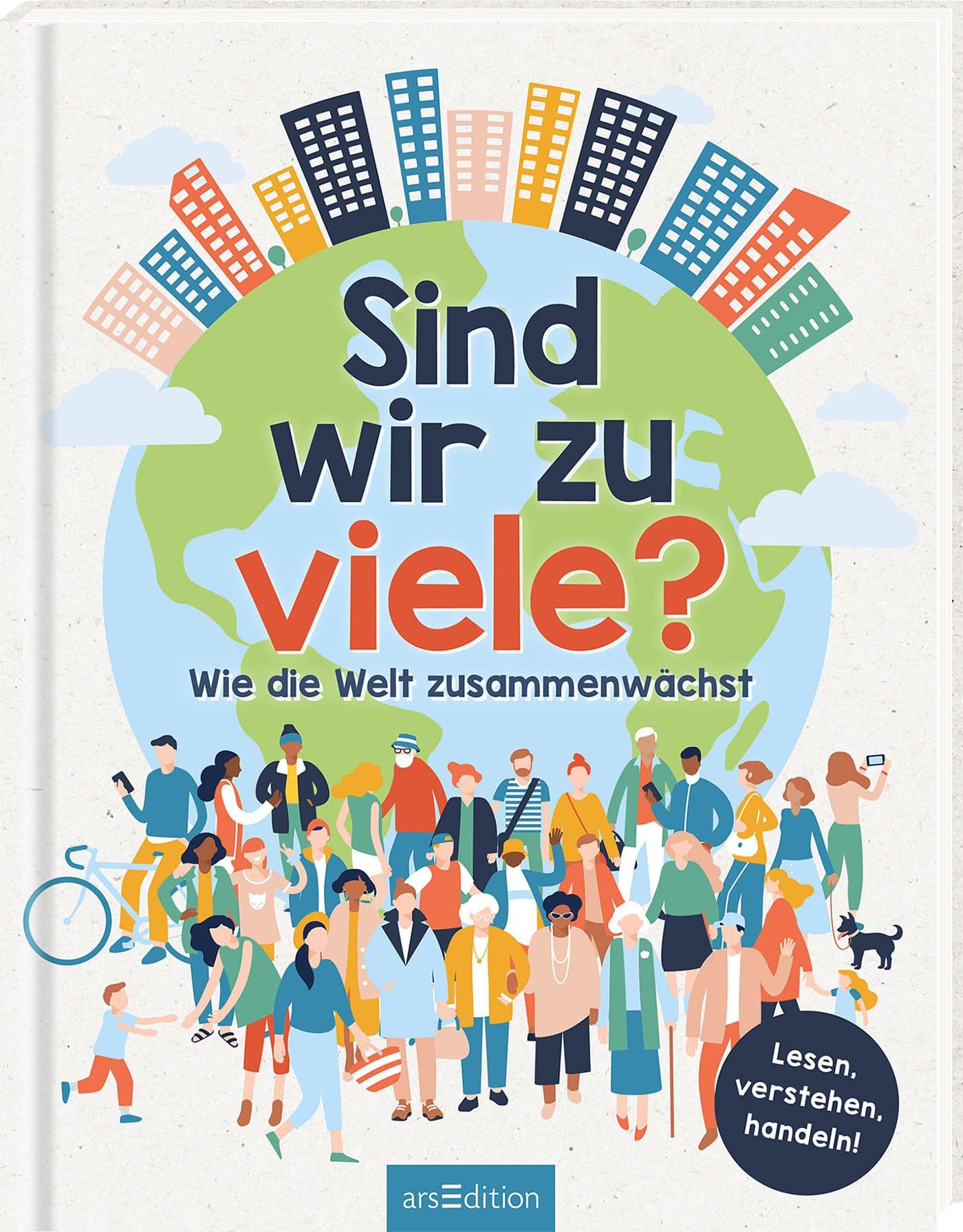 Natur- und Klimaschutz-Kindersachbuch-Tipps: Sind wir zu viele? // HIMBEER
