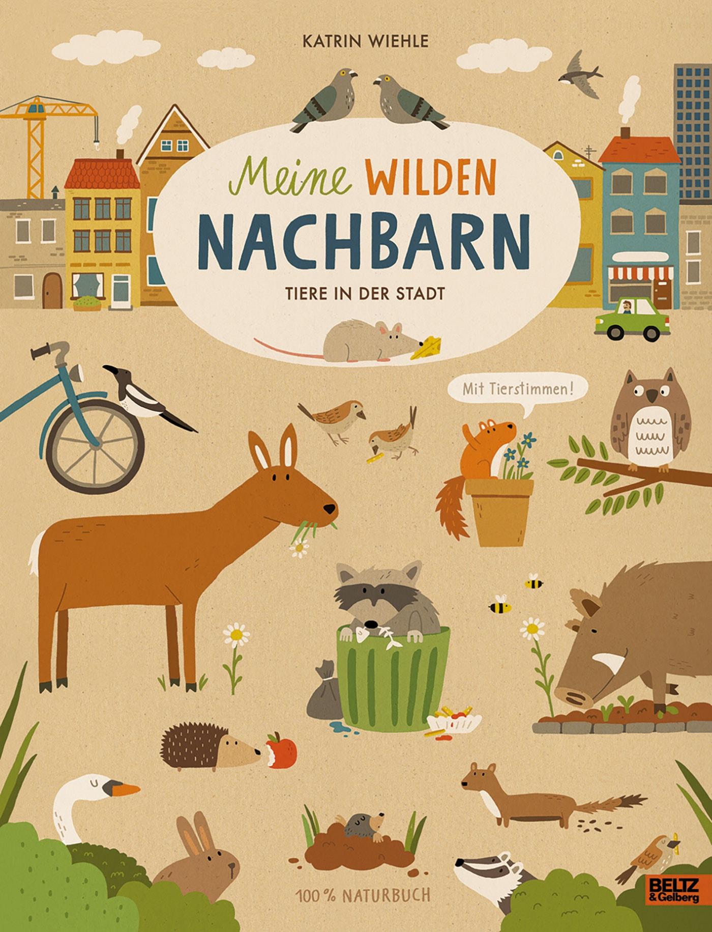 Kinderbuch-Tipps: 100 % Naturbuch: Meine wilden Nachbarn // HIMBEER