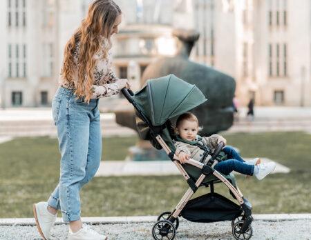 Leclerc Baby Trendsetter-Kinderwagen // HIMBEER
