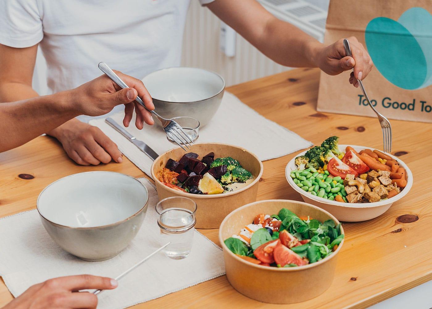 Foodsharing mit Too Good To Go // HIMBEER