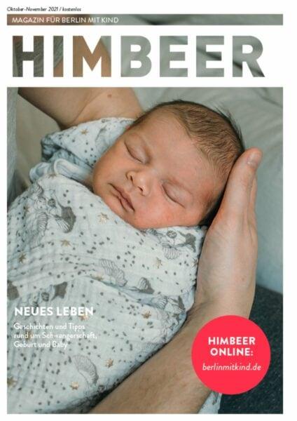 HIMBEER Magazin für Berlin mit Kind, Oktober-November 2021 // HIMBEER