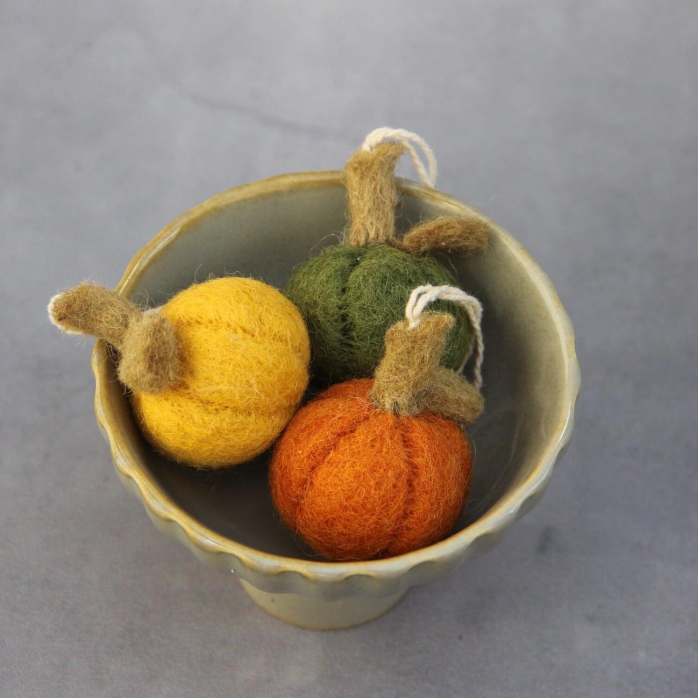 Lieblingssachen für den Herbst: Fair Trade Filzdeko von Én Gry & Sif // HIMBEER