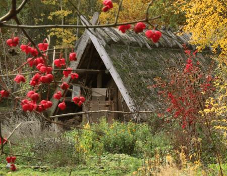 Mittelalter erleben in den Herbstferien im Museumsdorf Düppel // HIMBEER
